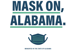 Mask On, Alabama Graphic